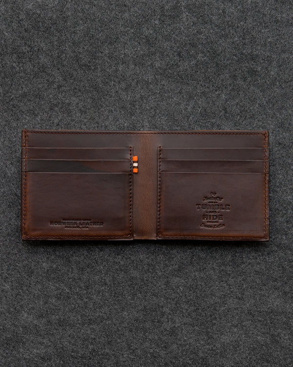 Horween Leather East West Wallet