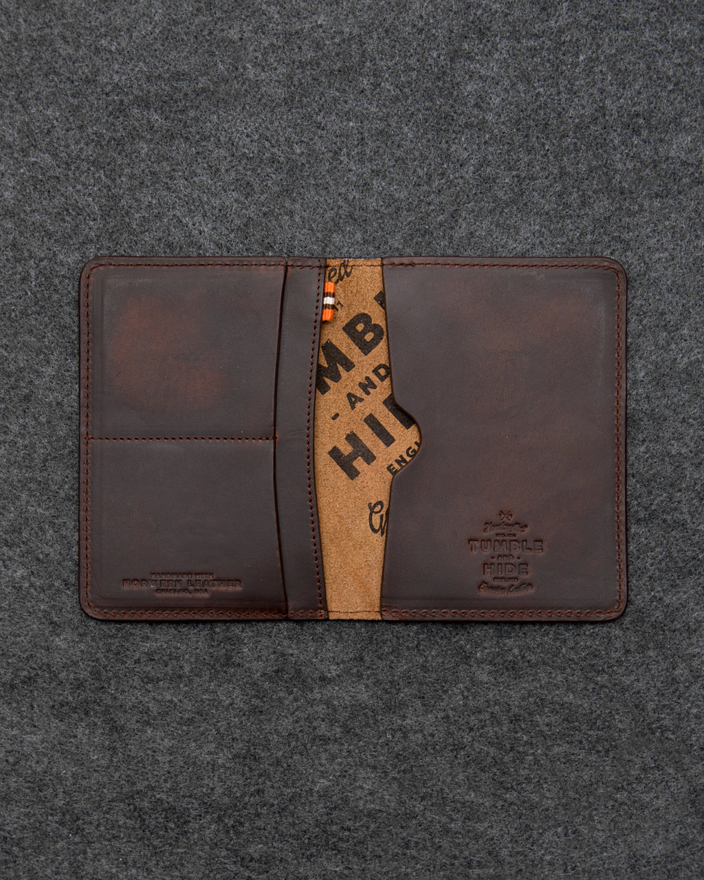 Horween Leather Passport Holder