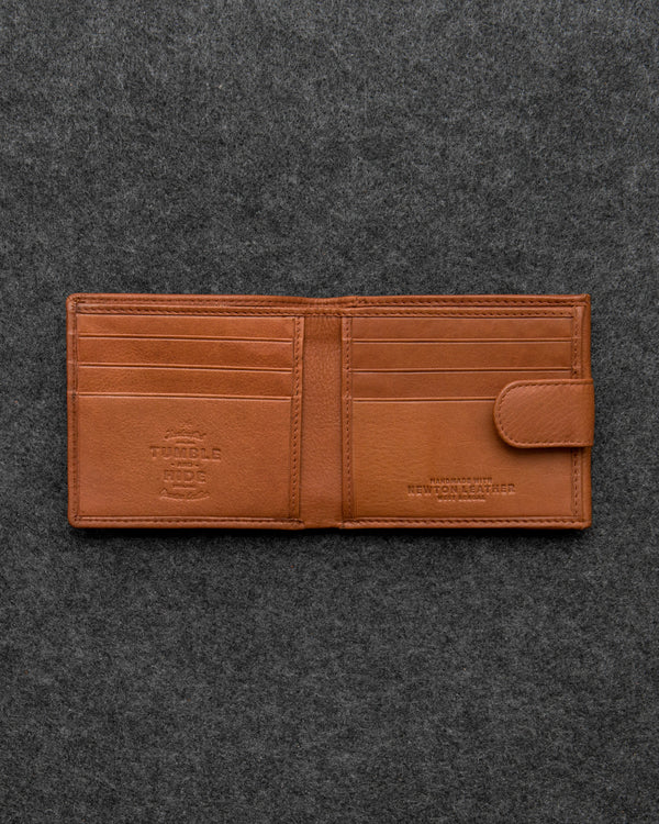 Newton Leather Basal Tray Wallet