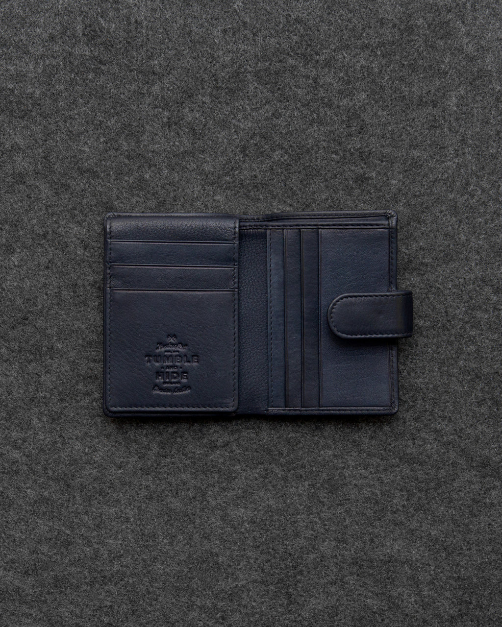 Newton Leather Credit Card Holder Wallet