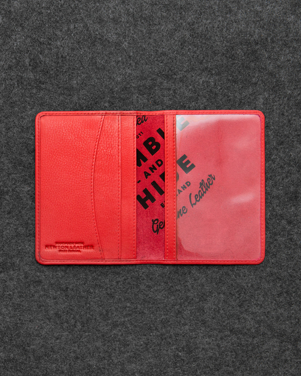 Newton Leather Passport Holder