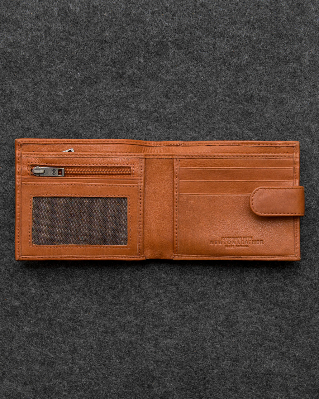 Newton Leather Replete Tray Wallet