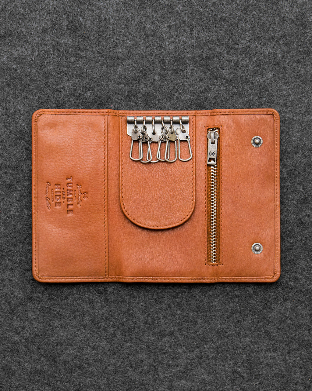 Newton Leather Traditional Keycase