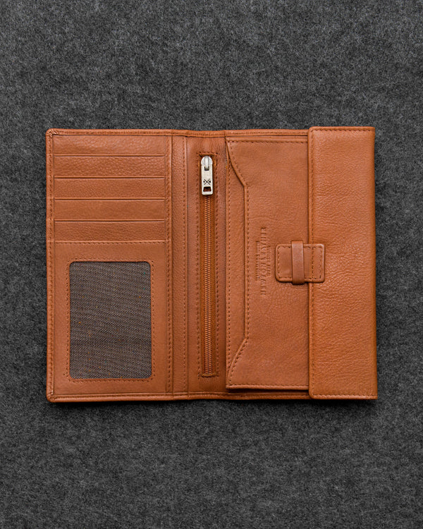 Newton Leather Traditional Wallet