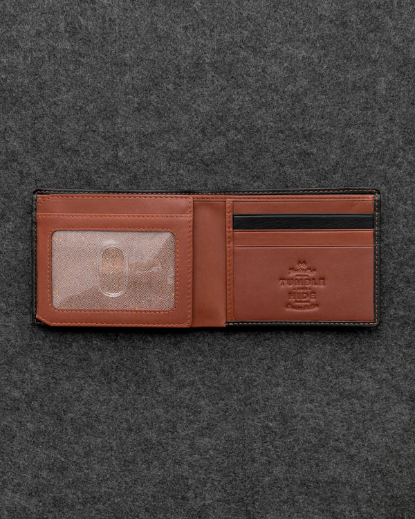 Safari Leather Two Fold Journey Wallet