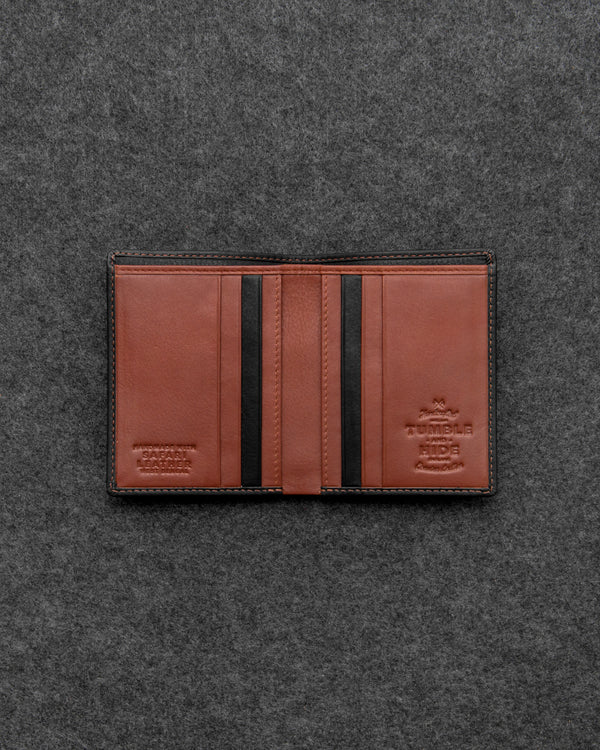 Safari North South Basal Leather Wallet