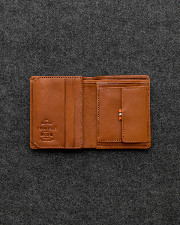 Tudor Leather Abridged Wallet