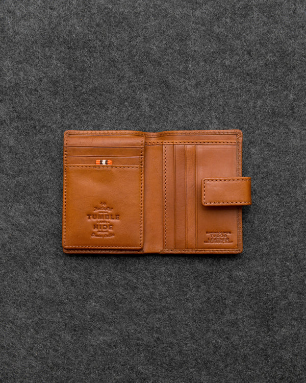 Tudor Leather Credit Card Holder Wallet