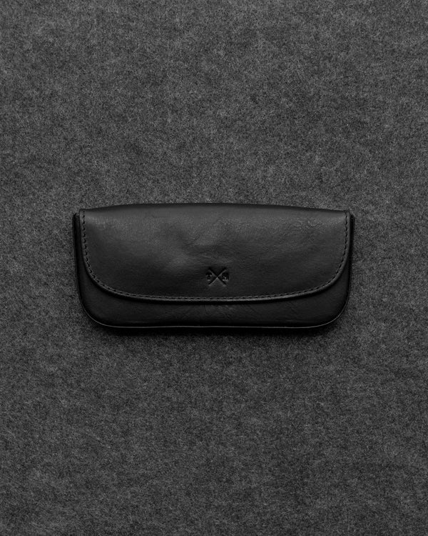 Tudor Leather Glasses Case