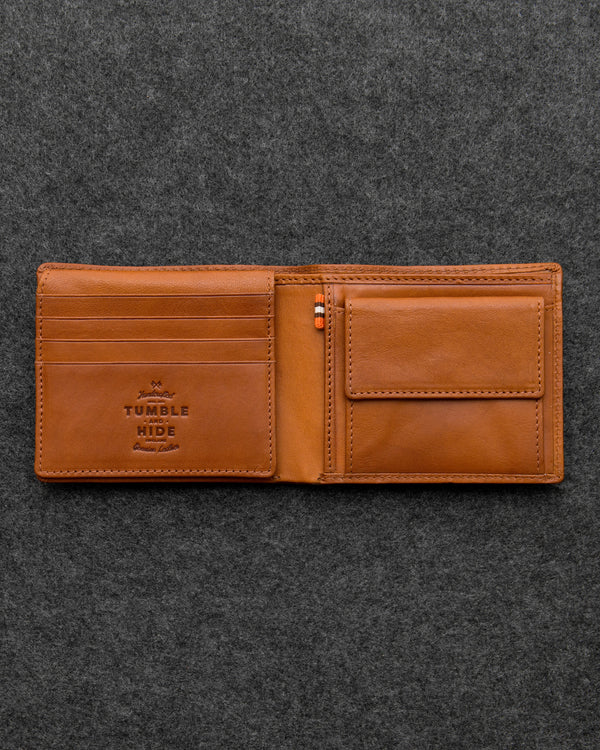 Tudor Leather Hallmark Wallet