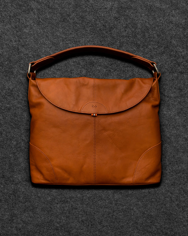 Tudor Leather Hobo Bag