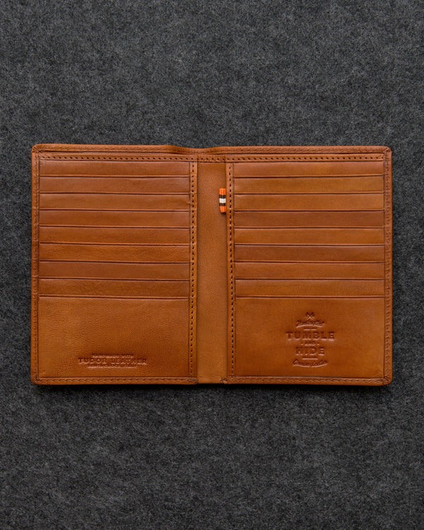 Tudor Leather Jacket Wallet