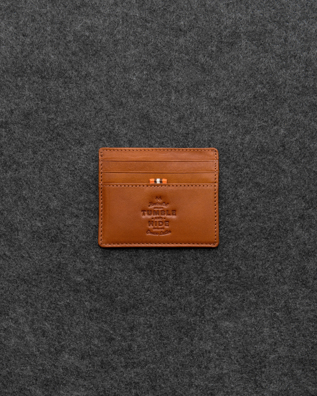 Tudor Leather Slim Credit Card Holder