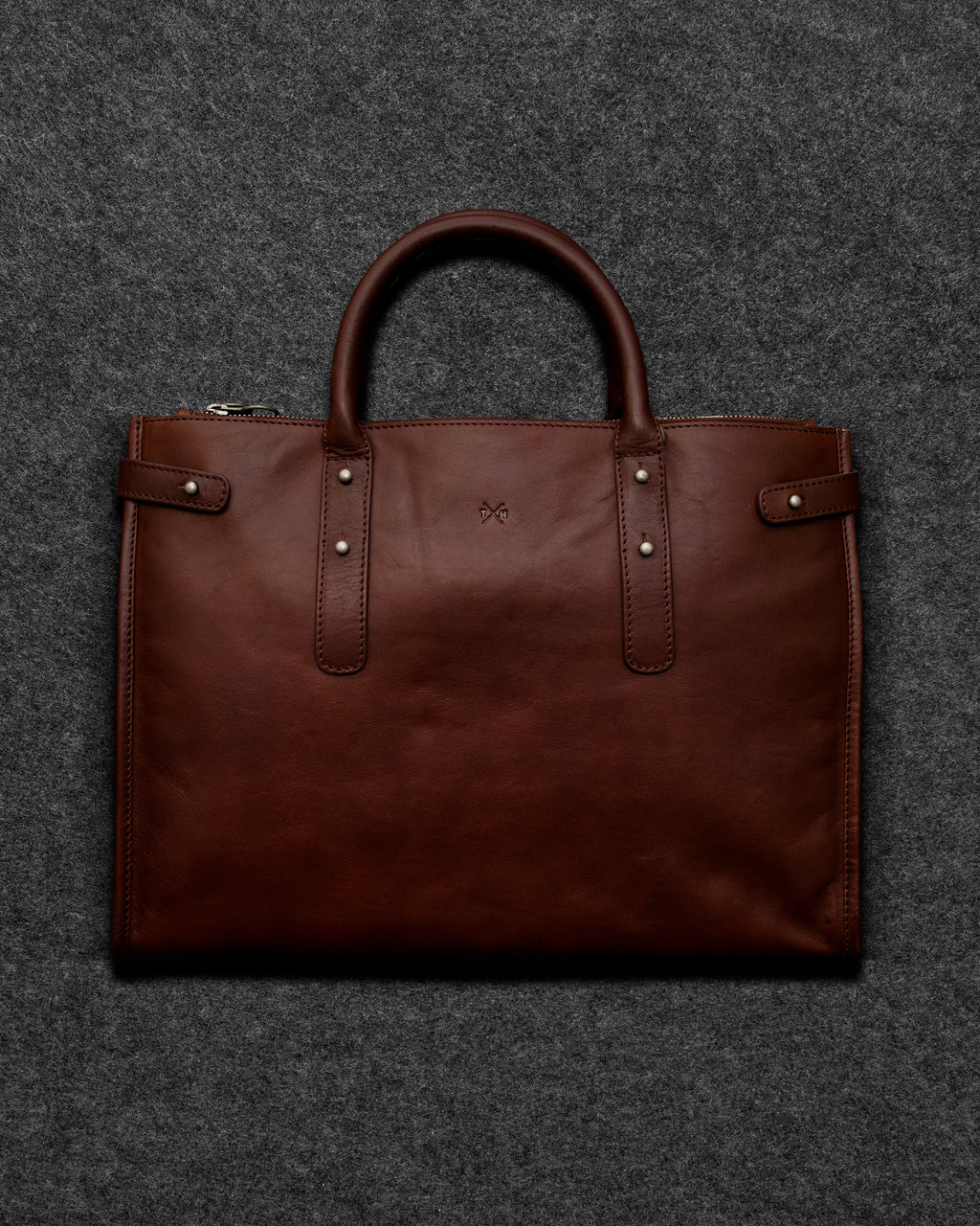Tudor Leather Tote Bag