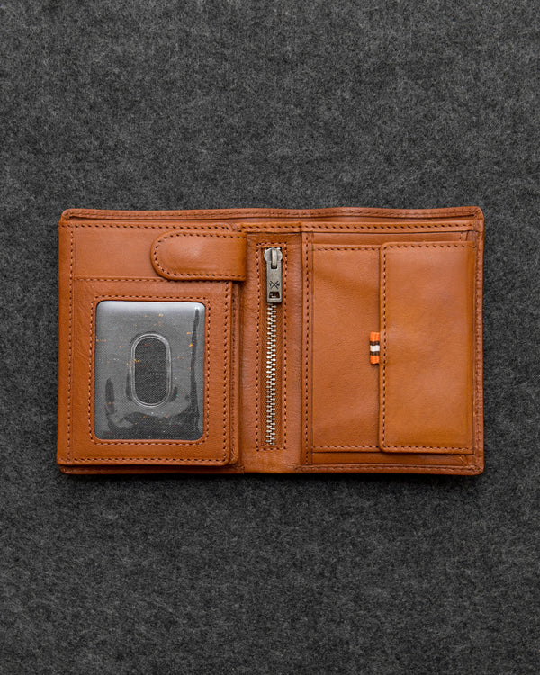 Tudor Leather Traditional Large Capacity Wallet