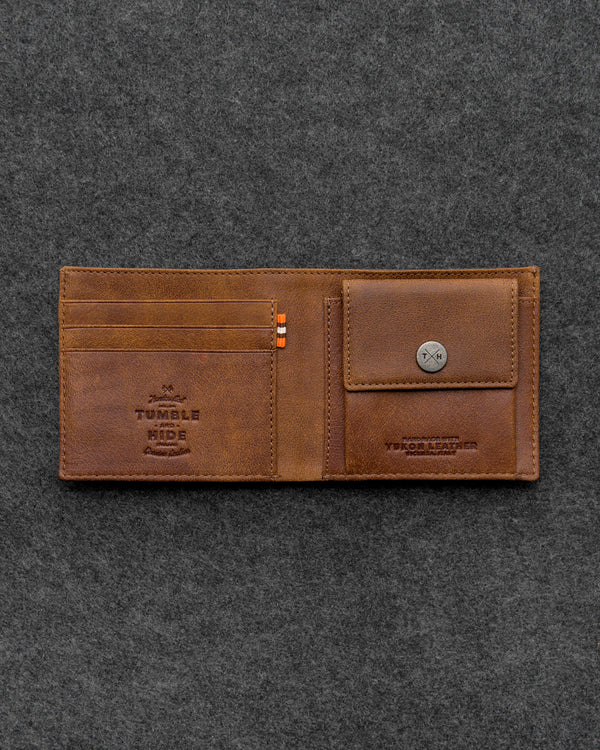 Yukon Leather Coin Pocket Wallet