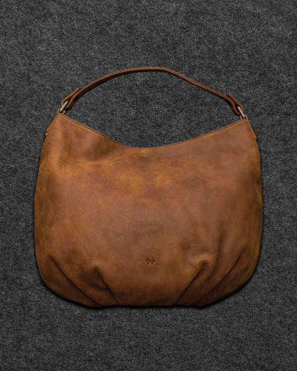Yukon Leather Hobo Bag