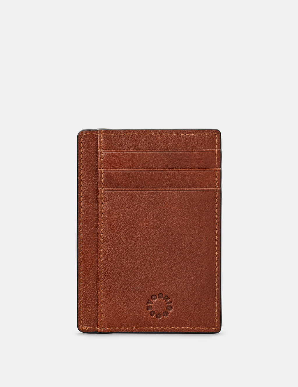 Leather Card Holder with ID Window