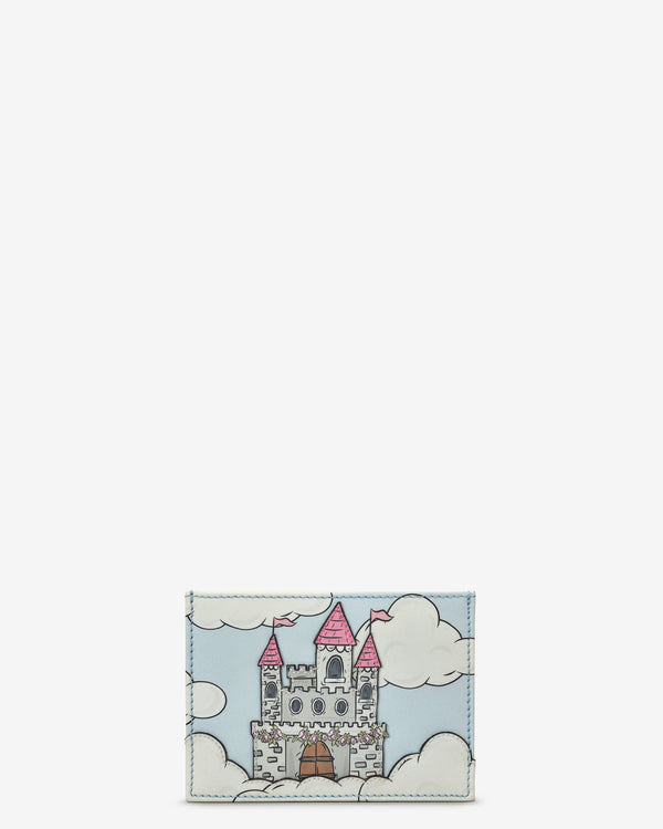 Princess Castle Slim Leather Card Holder