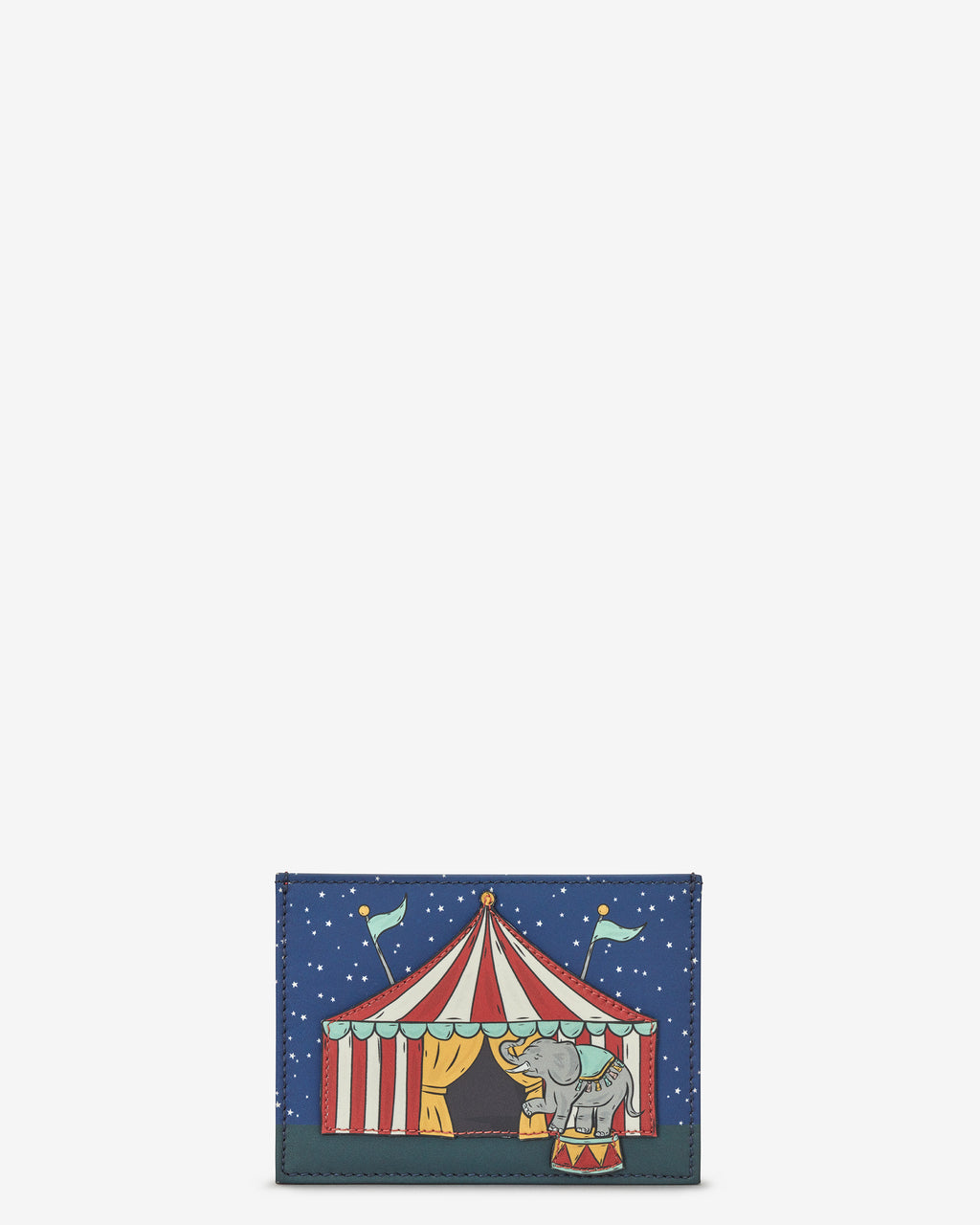 Circus Slim Leather Card Holder