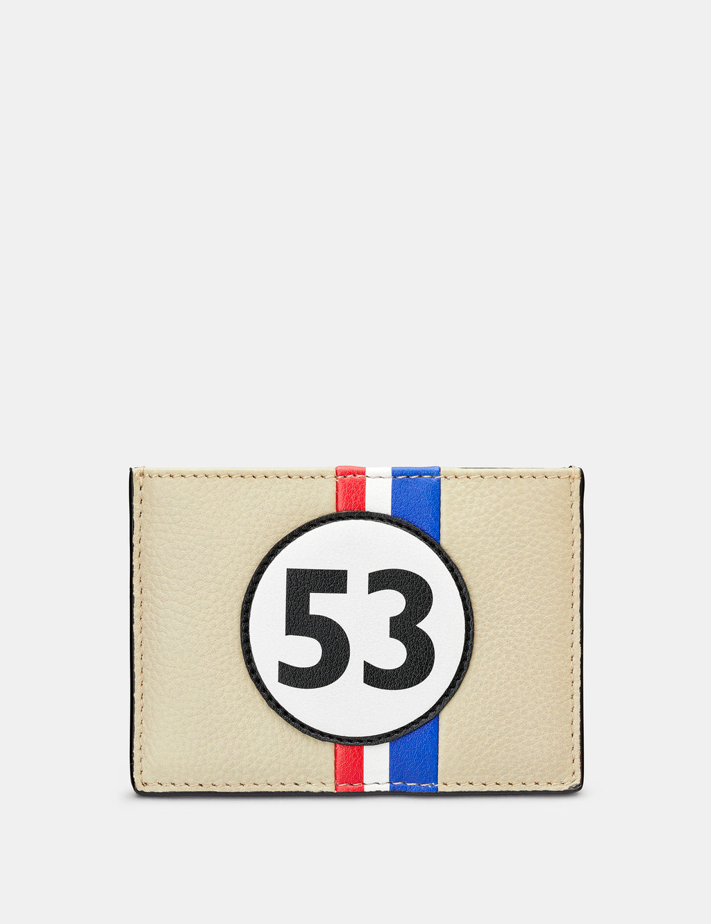 Car Livery No. 53 Black Leather Card Holder