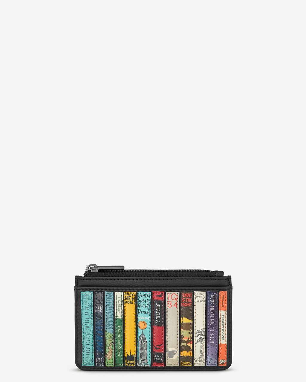 Bookworm Library Morton Leather Card Holder