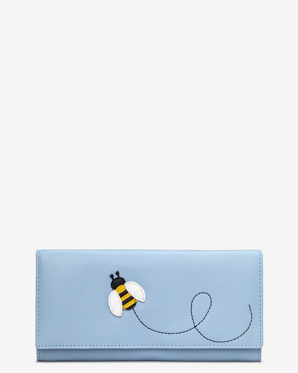 Y By Yoshi Bumble Bee Leather Matinee Purse