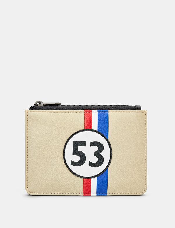 Car Livery No. 53 Leather Zip Top Purse