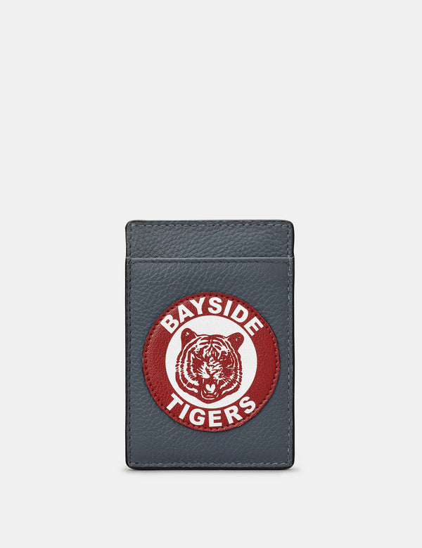 Bayside Tigers Compact Leather Card Holder