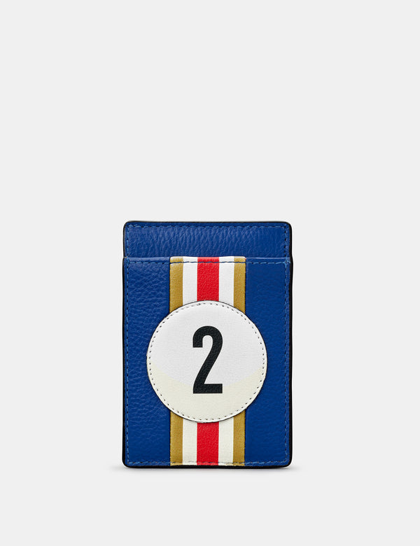 Car Livery No. 2 Compact Leather Card Holder