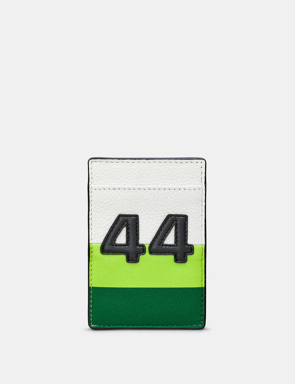 Car Livery No. 44 Compact Leather Card Holder