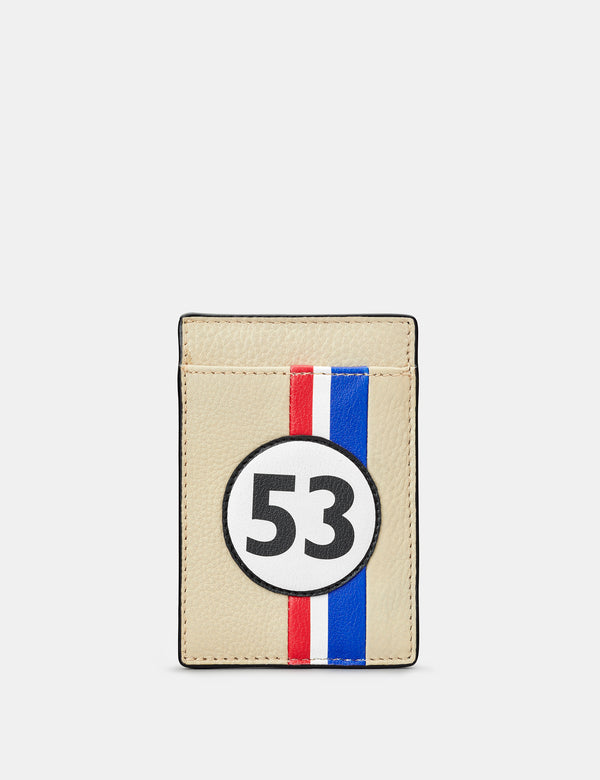 Car Livery No. 53 Compact Leather Card Holder