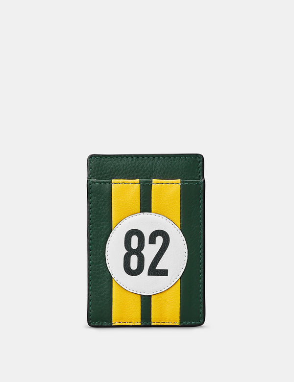 Car Livery No. 82 Compact Leather Card Holder