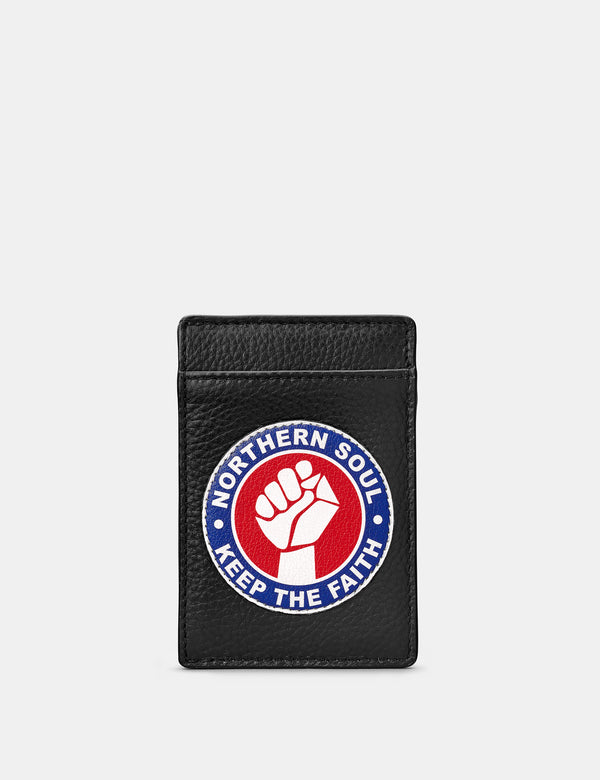 Northern Soul Compact Leather Card Holder