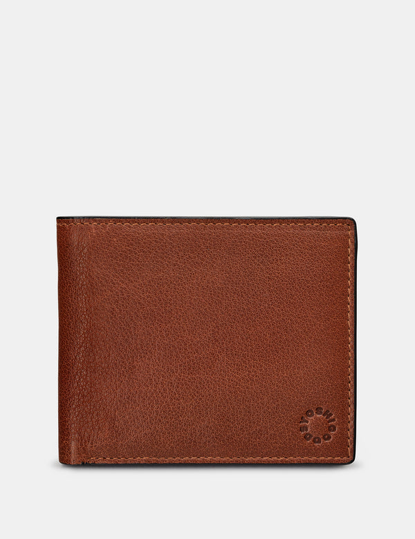 Extra Capacity Two Fold Leather Wallet