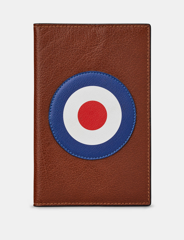 Mod Brown Leather Golf Scorecard Holder