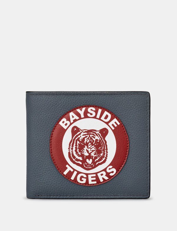 Bayside Tigers Grey Leather Wallet