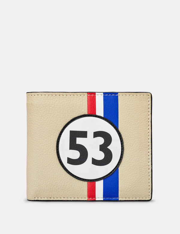 Car Livery No. 53 Black Leather Wallet