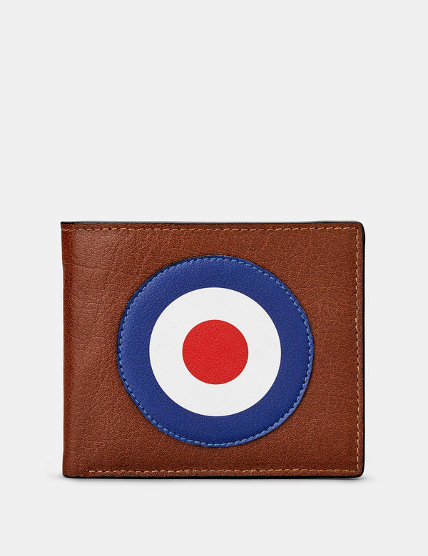 Mod Brown Leather Wallet