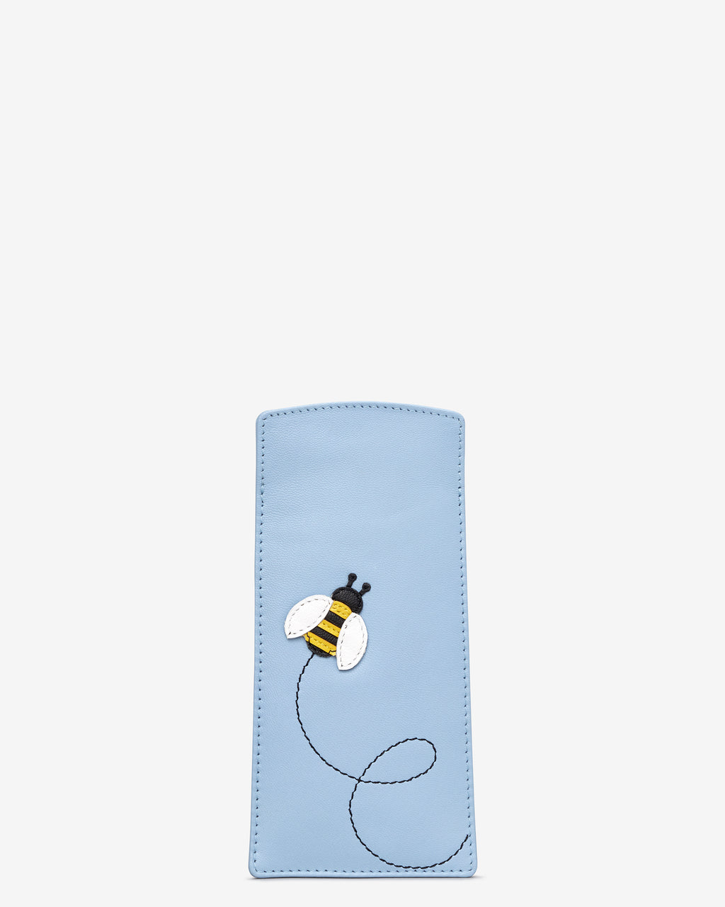 Y By Yoshi Bumble Bee Leather Glasses Case