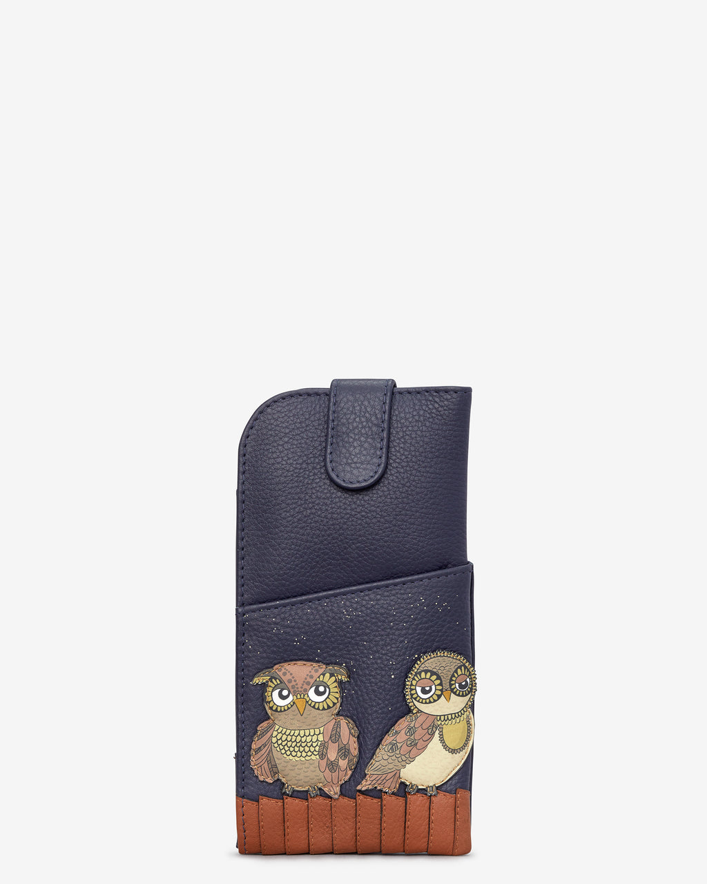 Owl You Need Leather Glasses Case