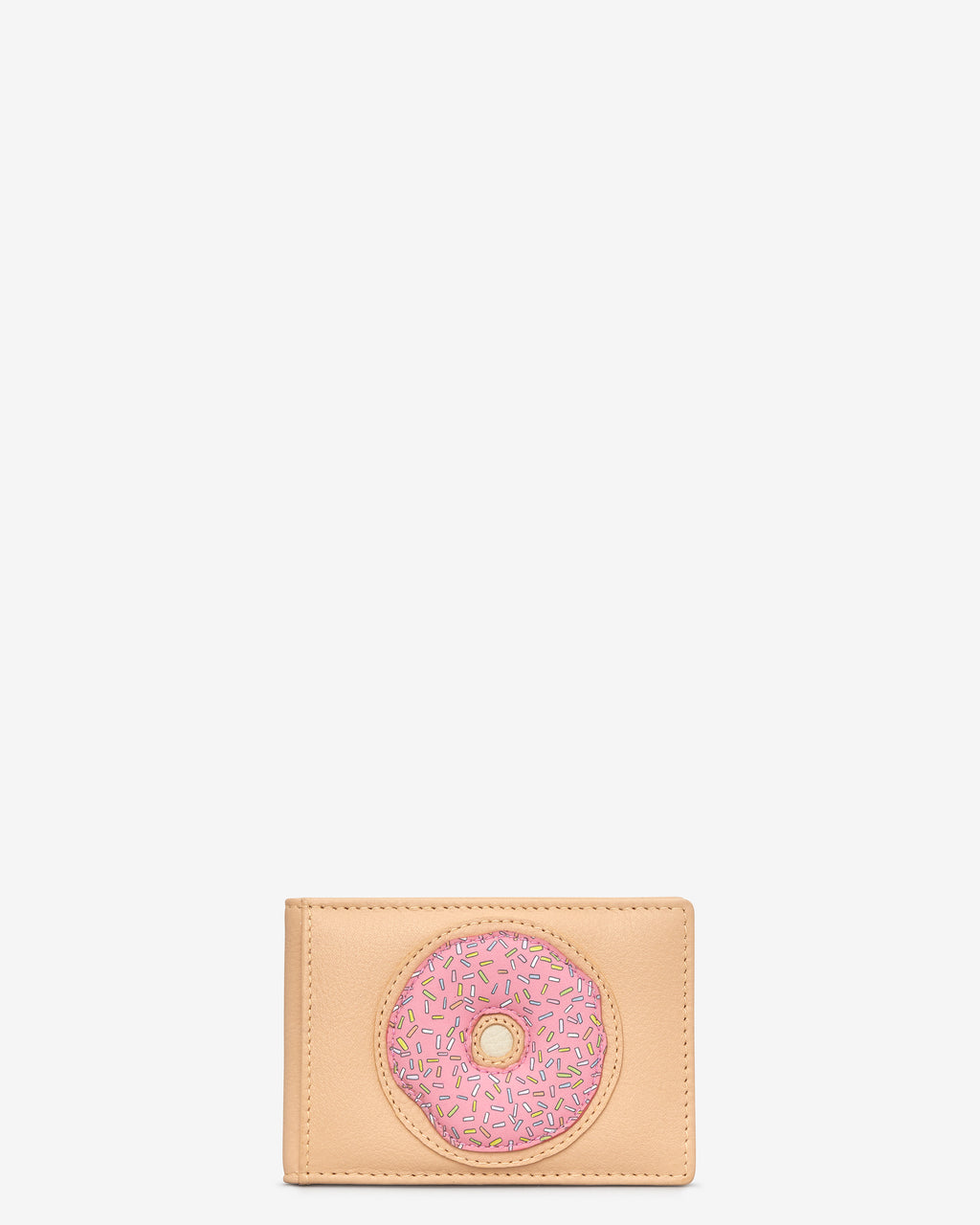 Donut Leather Travel Pass Holder