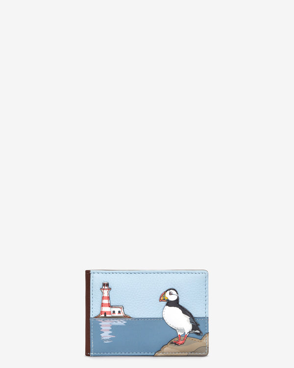 Puffin Island Leather Travel Pass Holder