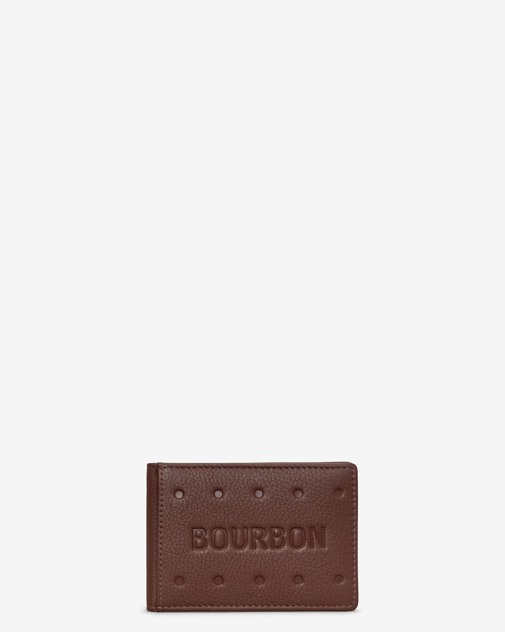 Bourbon Biscuit Leather Travel Pass Holder