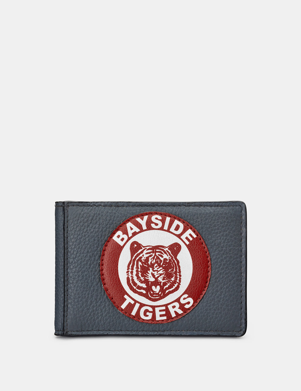 Bayside Tigers Grey Leather Travel Pass Holder