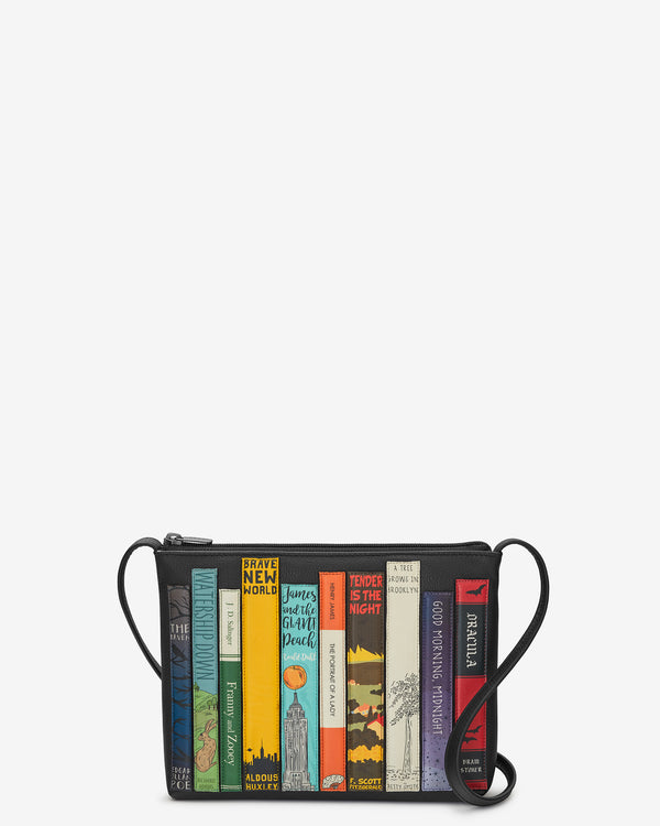Bookworm Parker Leather Cross Body Bag