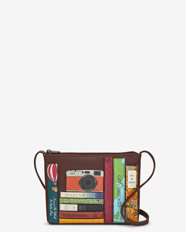 Travel Bookworm Parker Leather Cross Body Bag
