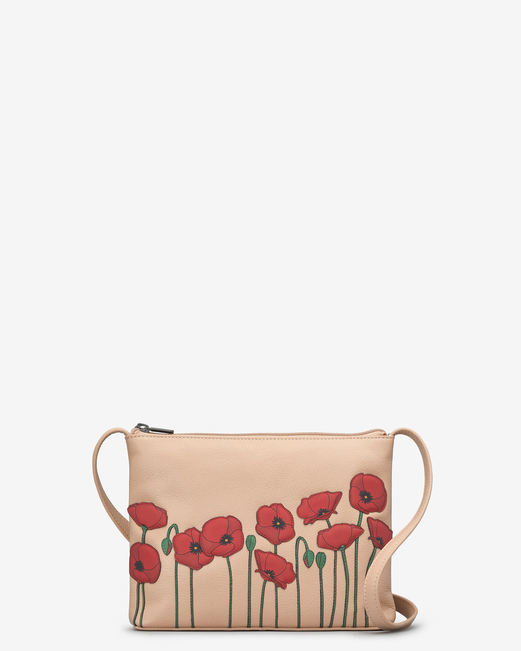 Poppy Parker Leather Cross Body Bag