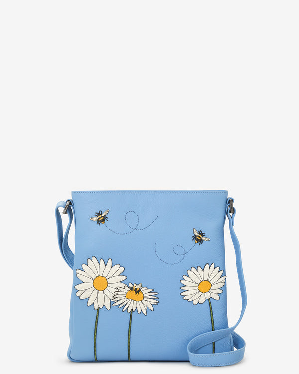 Bee Happy Bryant Leather Cross Body Bag