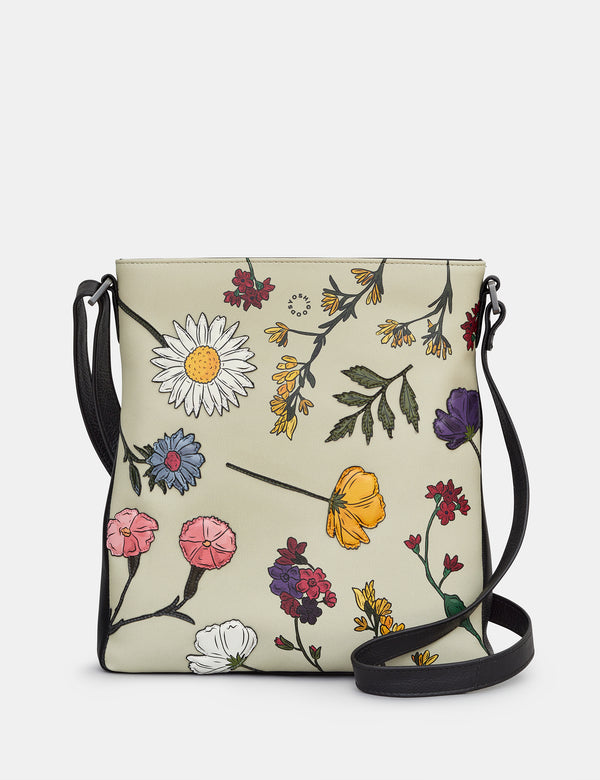 Herbarium Bryant Leather Cross Body Bag